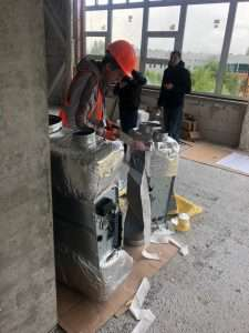 В частной клинике начался монтаж инженерных сетей ОВ и К.