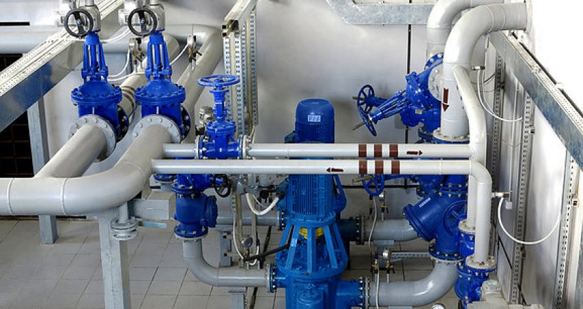Врезка в городскую систему водоснабжения