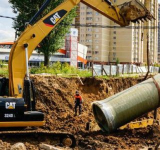 Строительство наружных сетей водопровода