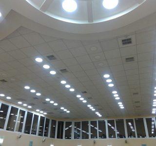 Монтаж систем освещения