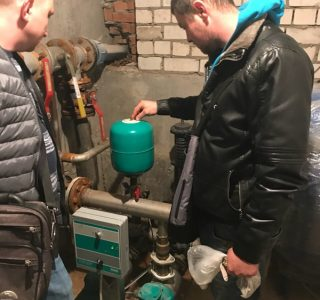 Настройка автоматики системы водоснабжения
